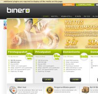 binero.se screenshot