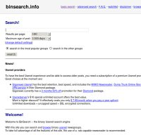 binsearch.info screenshot