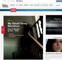 biography.com screenshot