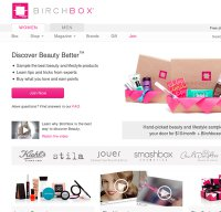 birchbox.com screenshot