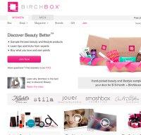 birchbox.com screenshot