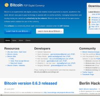 bitcoin.org screenshot