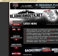 blabbermouth.net screenshot