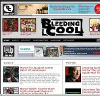 bleedingcool.com screenshot