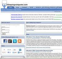 bleepingcomputer.com screenshot