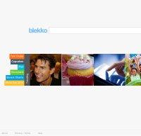 blekko.com screenshot