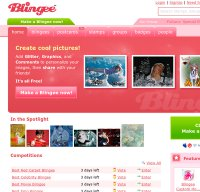 blingee.com screenshot