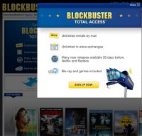 blockbuster.com screenshot