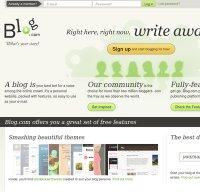 blog.com screenshot
