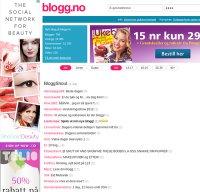 blogg.no screenshot