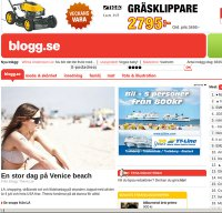 blogg.se screenshot