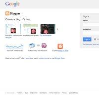 blogger.com screenshot