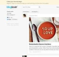 bloglovin.com screenshot