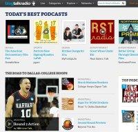 blogtalkradio.com screenshot