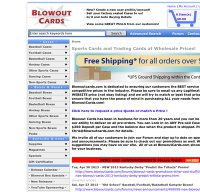blowoutcards.com screenshot