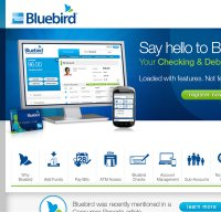 bluebird.com screenshot