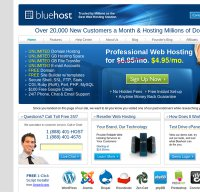 bluehost.com screenshot