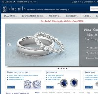 bluenile.com screenshot