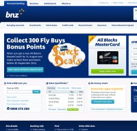 bnz.co.nz screenshot