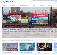 boeing.com screenshot