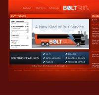 boltbus.com screenshot