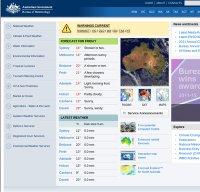 bom.gov.au screenshot