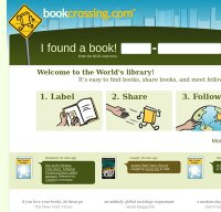 bookcrossing.com screenshot