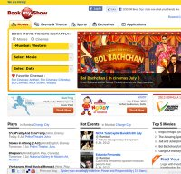 bookmyshow.com screenshot