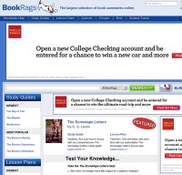 bookrags.com screenshot