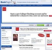 bookrags.com screenshot
