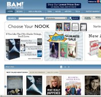 booksamillion.com screenshot