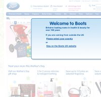boots.com screenshot