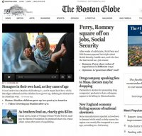 bostonglobe.com screenshot