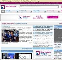boursorama.com screenshot
