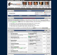 boxingscene.com screenshot
