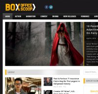 boxofficescoop.com screenshot