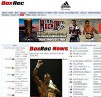 boxrec.com screenshot