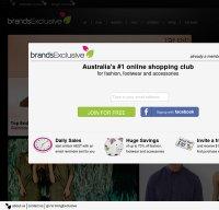 brandsexclusive.com.au screenshot