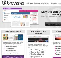 bravenet.com screenshot