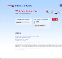 britishairways.com screenshot