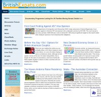 britishexpats.com screenshot