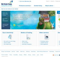 britishgas.co.uk screenshot