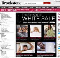 brookstone.com screenshot