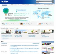 brother.com screenshot
