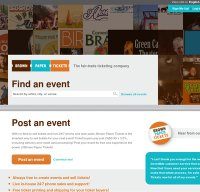 brownpapertickets.com screenshot