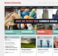 bu.edu screenshot