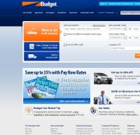 budget.com screenshot