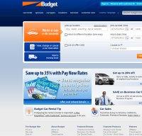 budget.com screenshot
