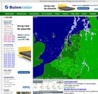 buienradar.nl screenshot