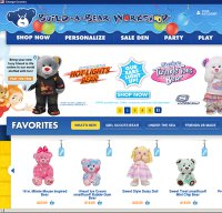buildabear.com screenshot